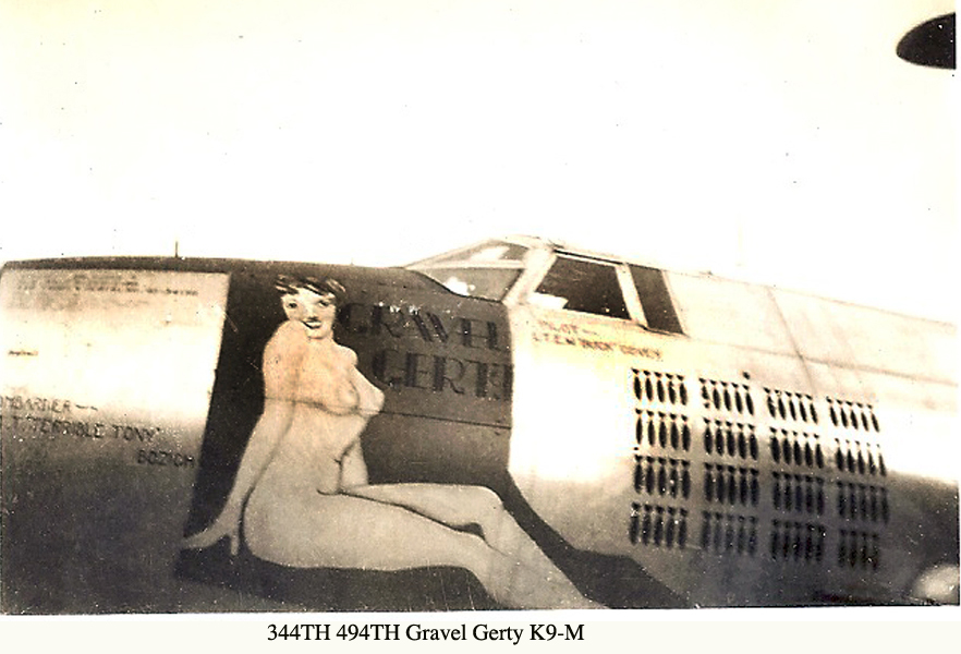 344TH 494TH GRAVEL GERTY K9-M