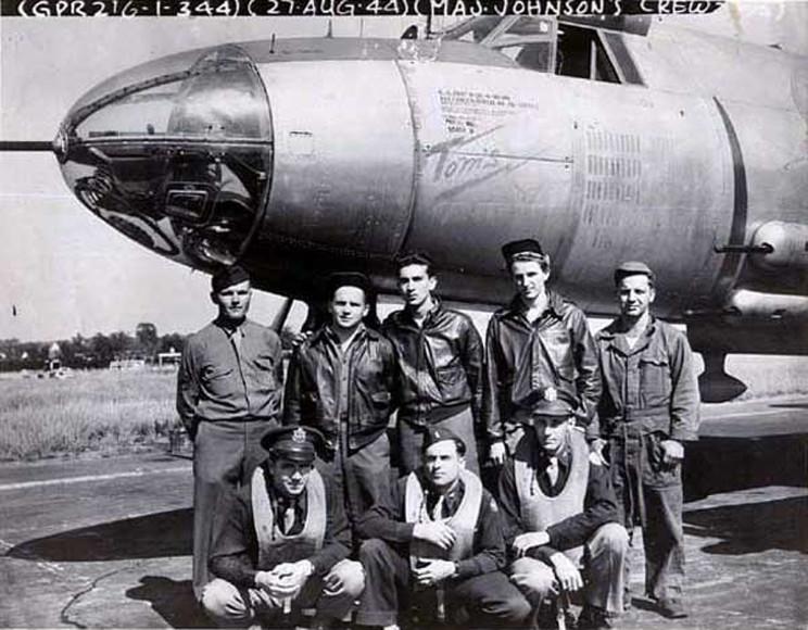 42-95977 Tom's Tantalizer Unit Code?  1st Lt. Thomas F Johnson