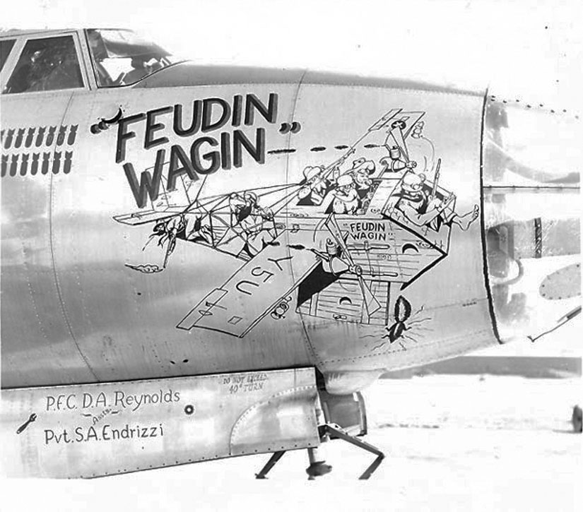 Feudin Wagon 344th BG