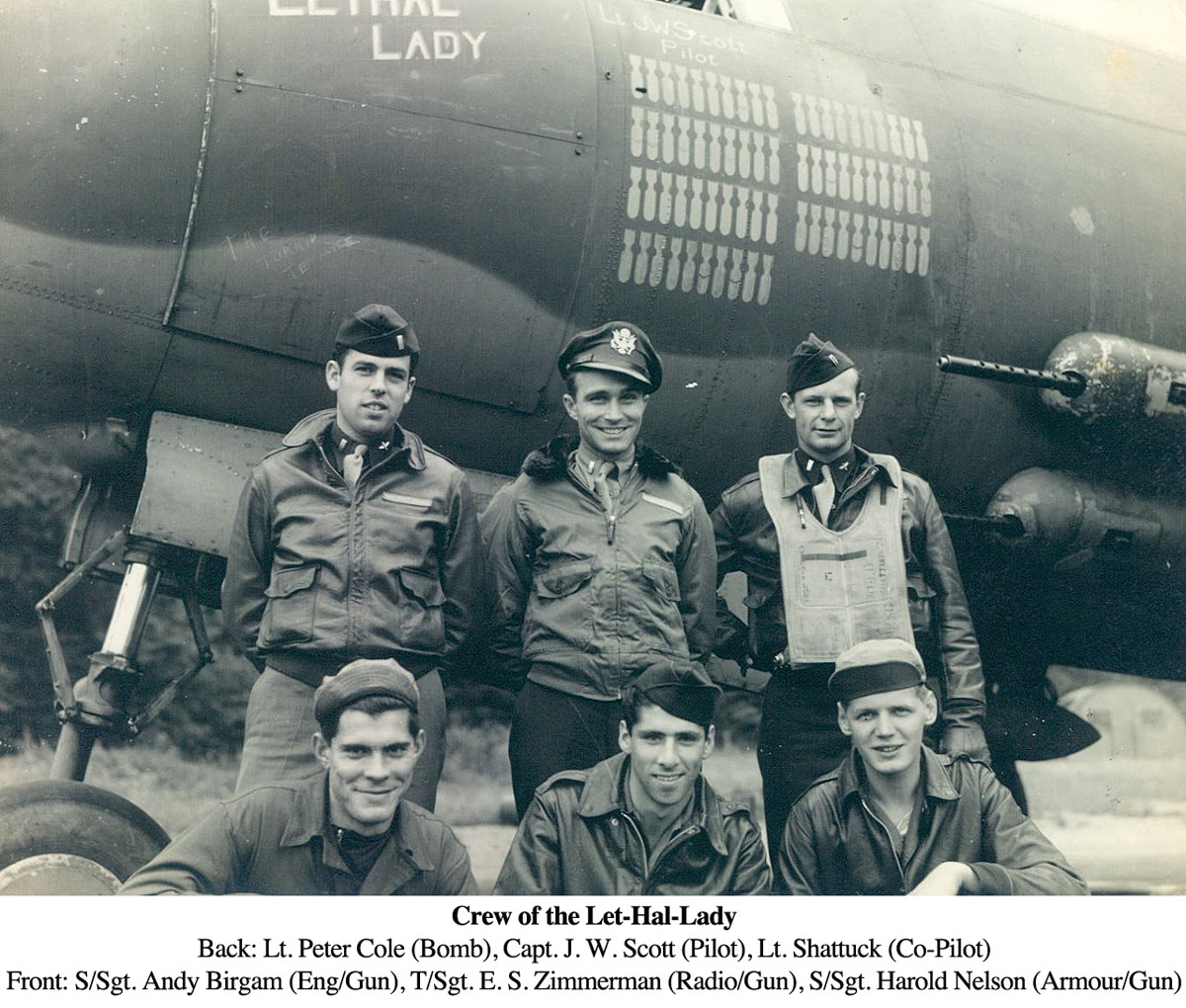 Joe air corps with crew
