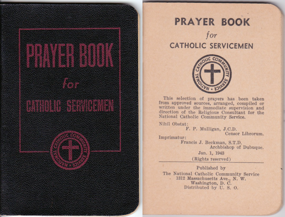 Dads Wartime Prayerbook