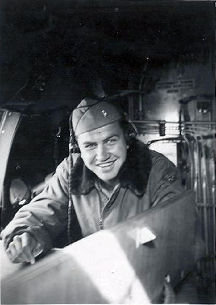 GWC,WWII smiling in B26 jpg