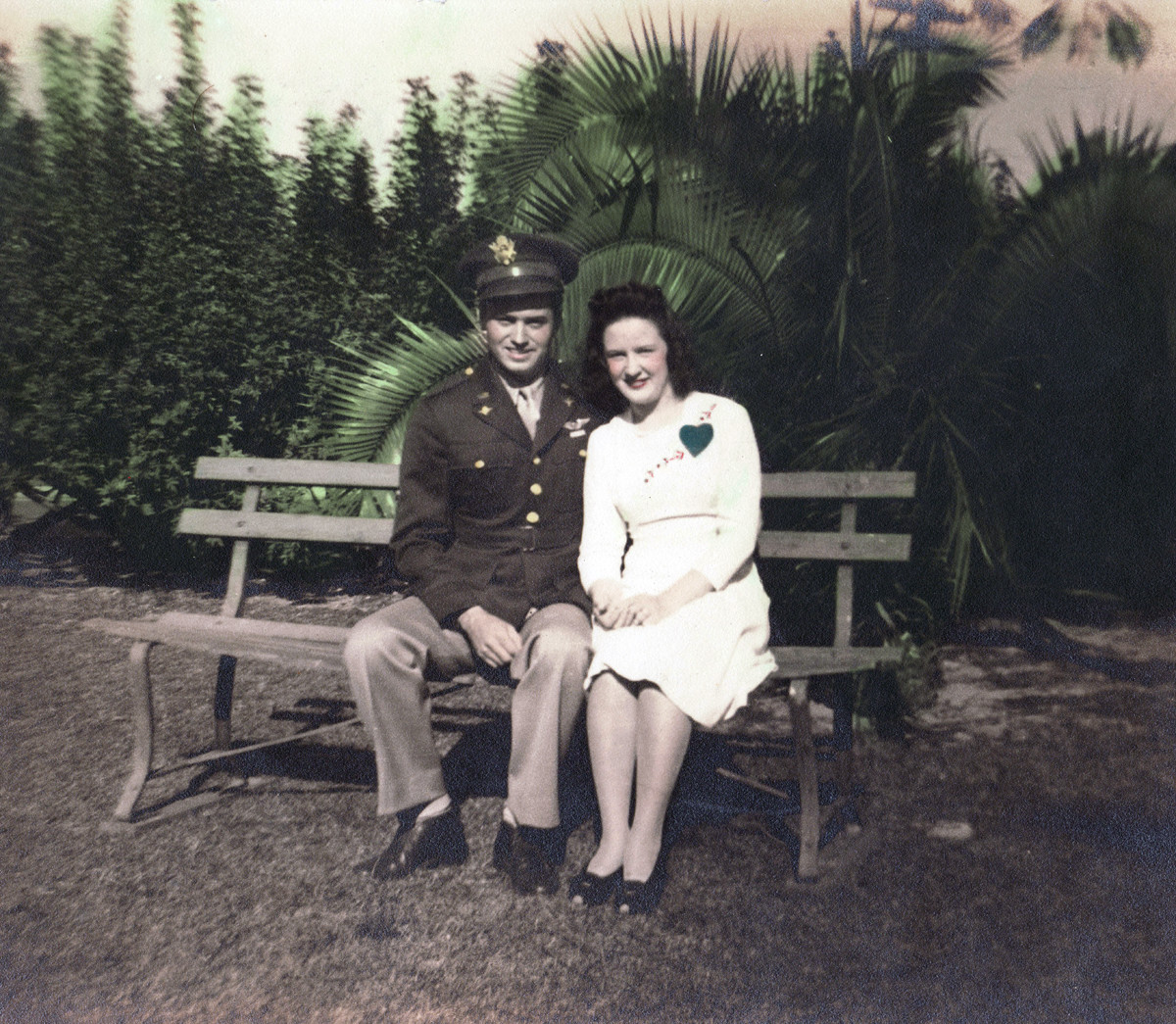 Fannie and J.R. Ashberry. 1942 Fort Myers, Fl.