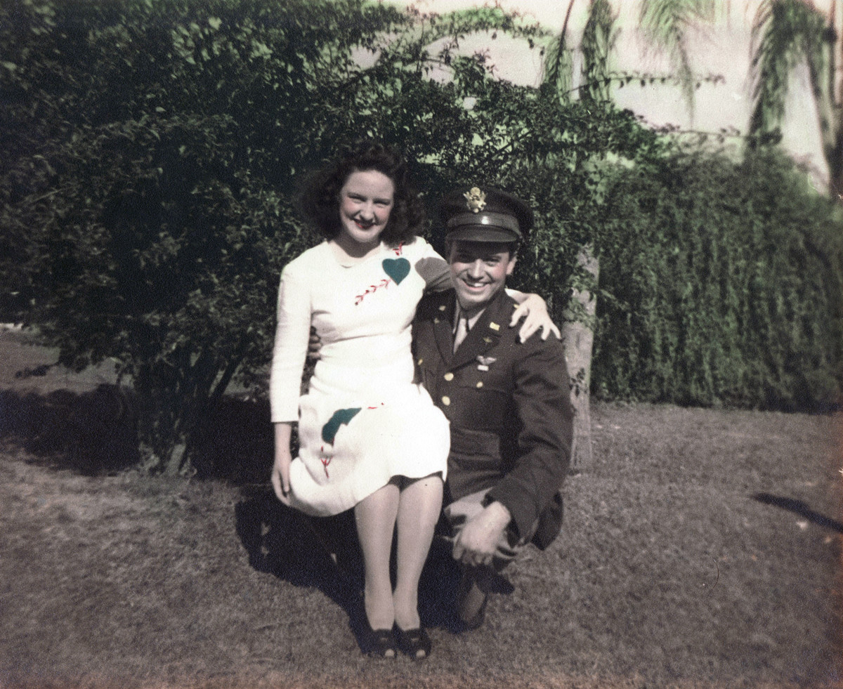 Fanny and J.R. Ashberry. 1942 Fort Myers, Fl.