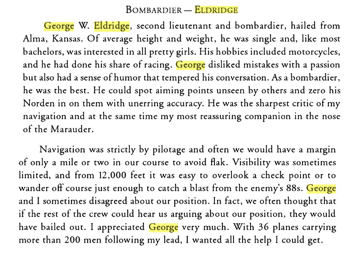 George Eldridge