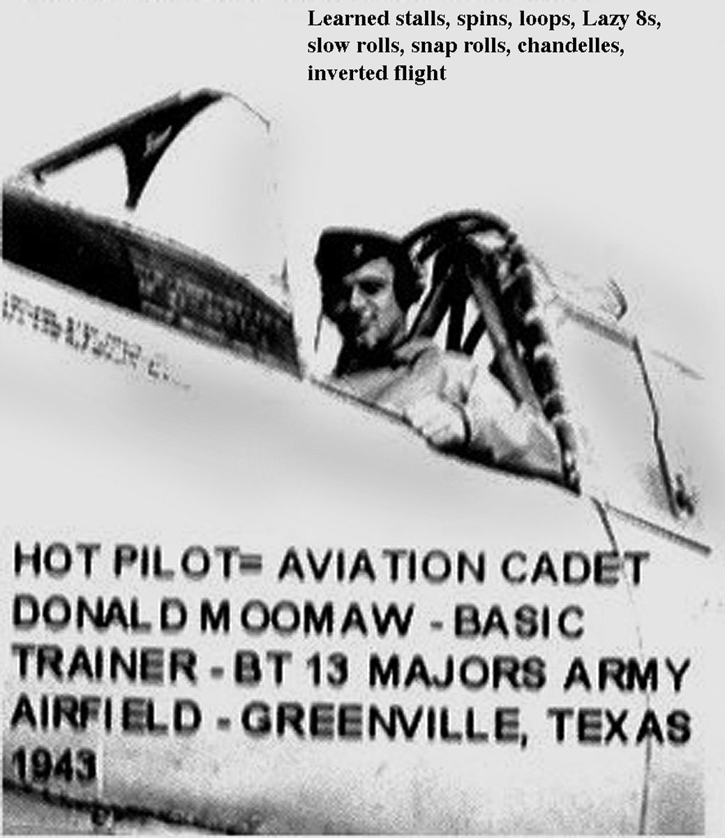 moomaw aviation cadet