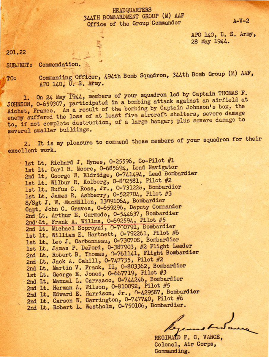 1-Commendation 28 May 1944 comp