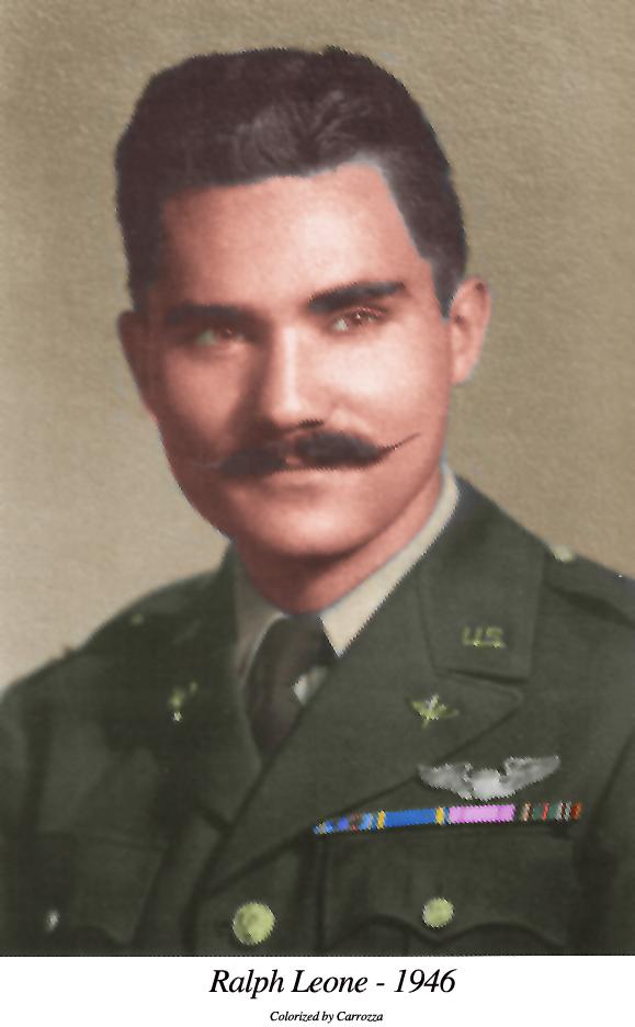 1st lt Ralph Leone Colorized