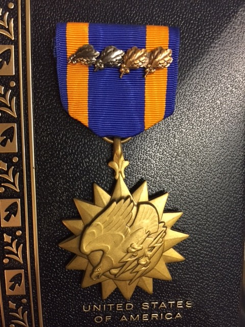 Air Medal with OLCs