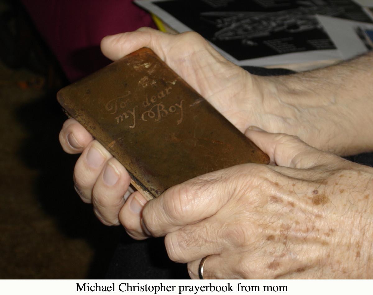 Christopher Prayerbook from mom