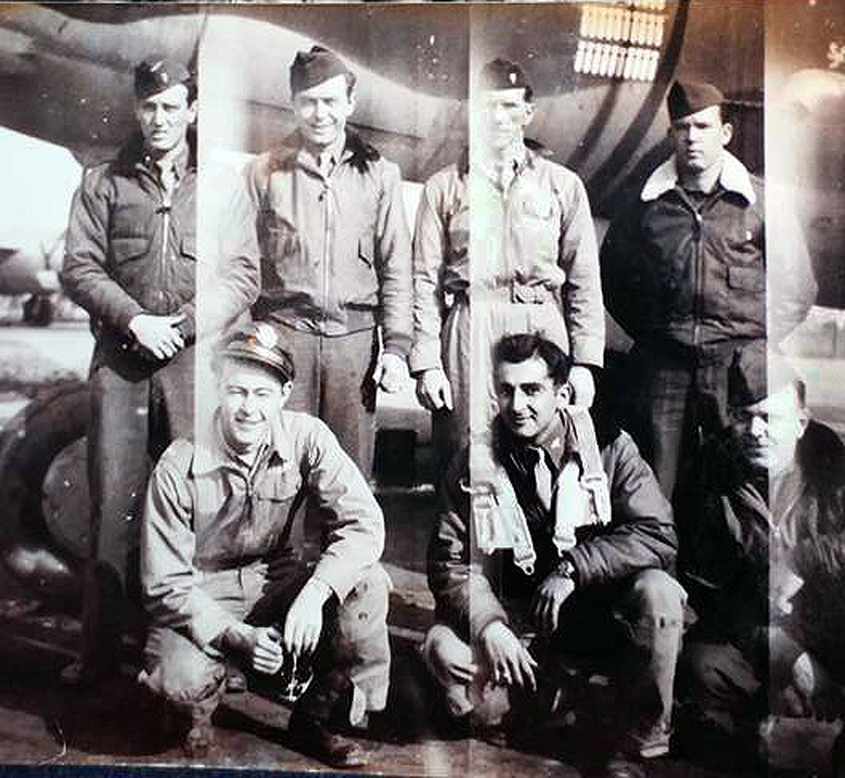 1st Lt. Robert Warda crew split