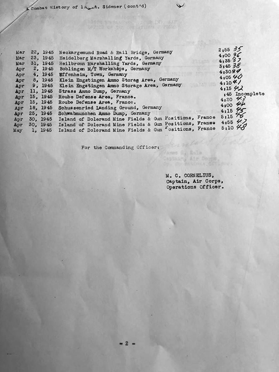 Sidener Mission list p2
