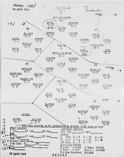 Cohen April 25, 1945 Formation