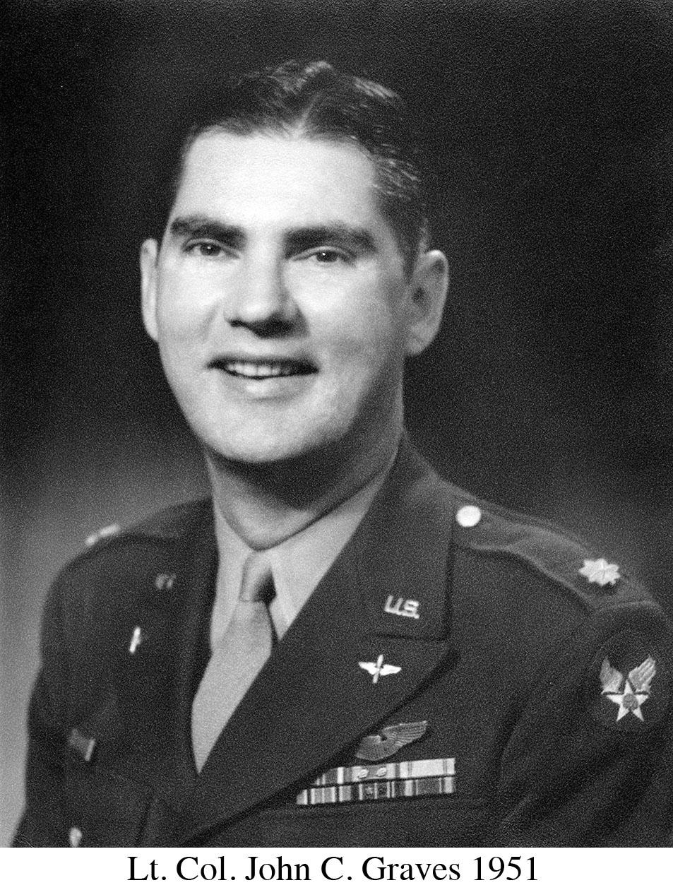 John C Graves Lt. Col 1951