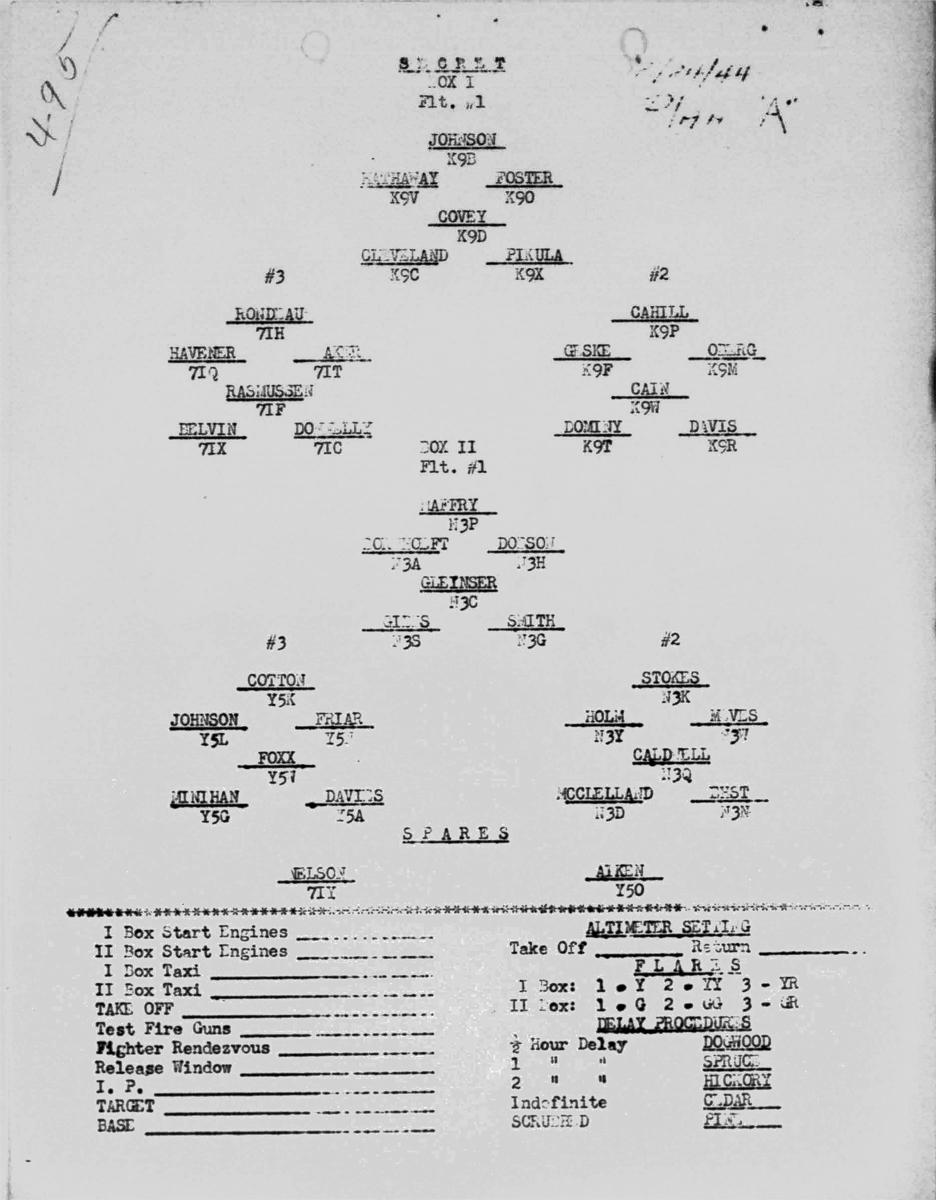 Formation Dec 24, 1944