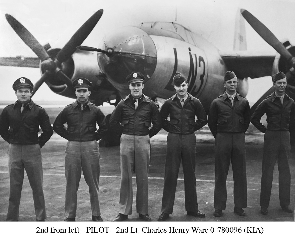 2nd Lt. Charles Henry Ware Jr. crew