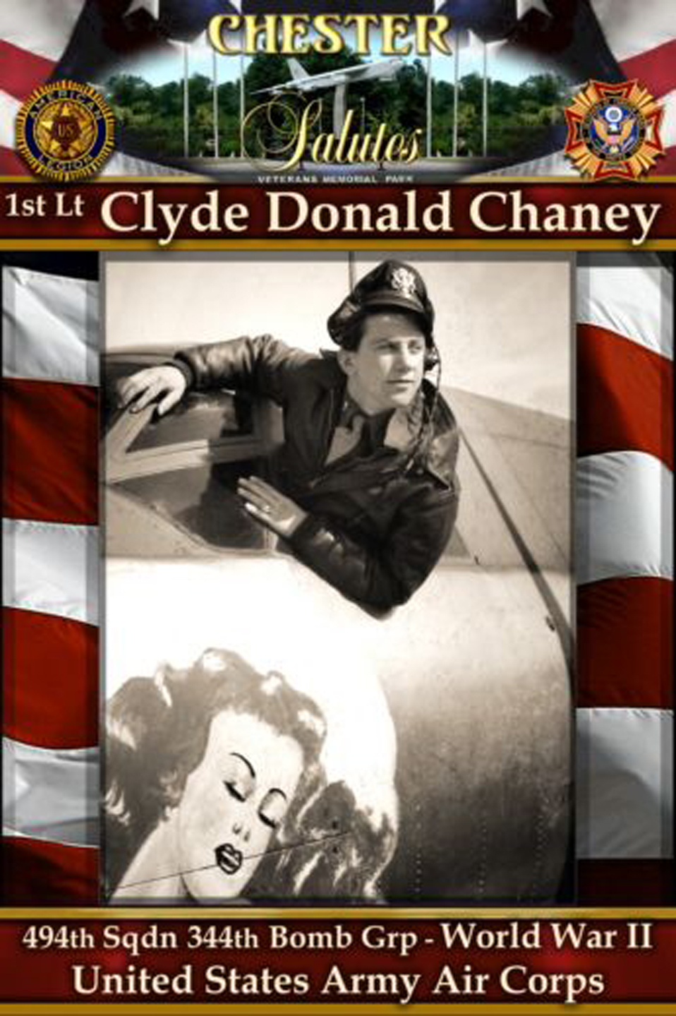 Lt.Clyde Donald Chaney