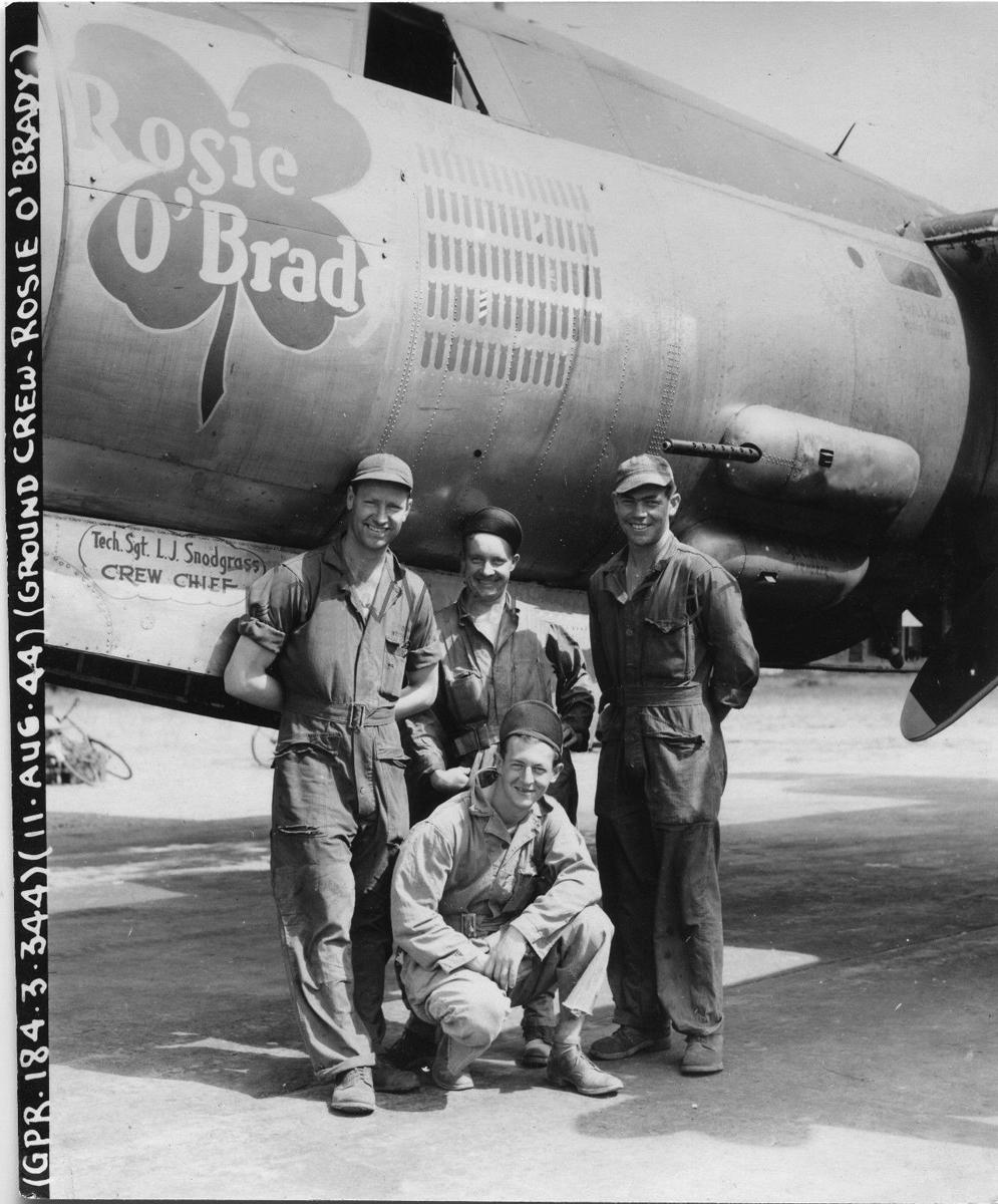 Rosie O'brady 344th BG 495th BS. Ground Crew copy