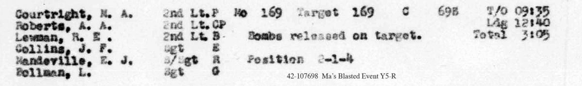 Mandeville May 30, 1944 LL