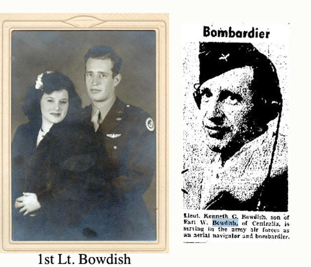 1st Lt. Bowdish