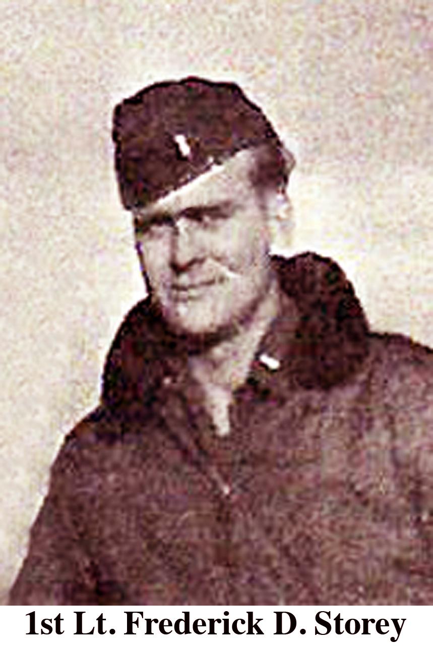 1st Lt. Frederick Storey