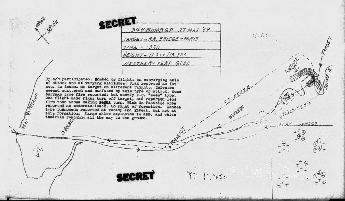 B0289A p109 Map Pikula-Lyons May 27, 1944