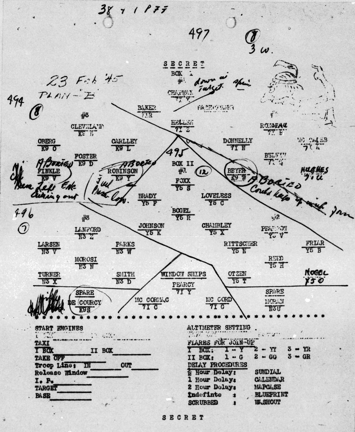 Chapman Storey B0297 p1977 Form Feb 23, 1945