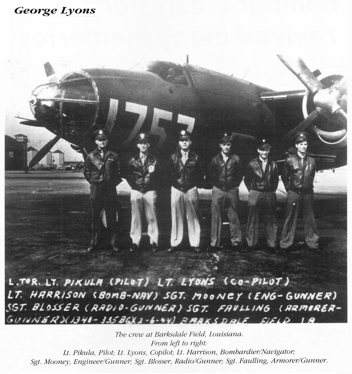 George Lyons crew