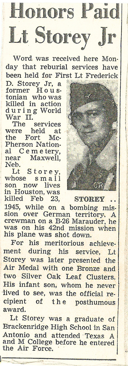 Storey news clipping