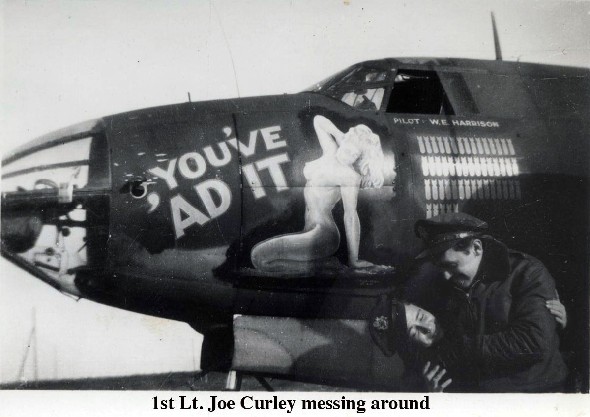 1st lt Joe Curley messing around