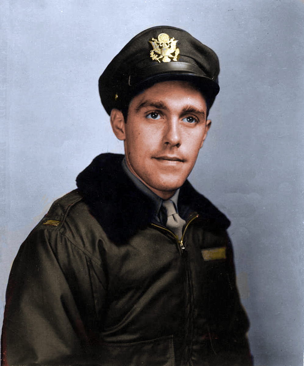 1st lt Joe Curley portrait Colorized vers 2 copy
