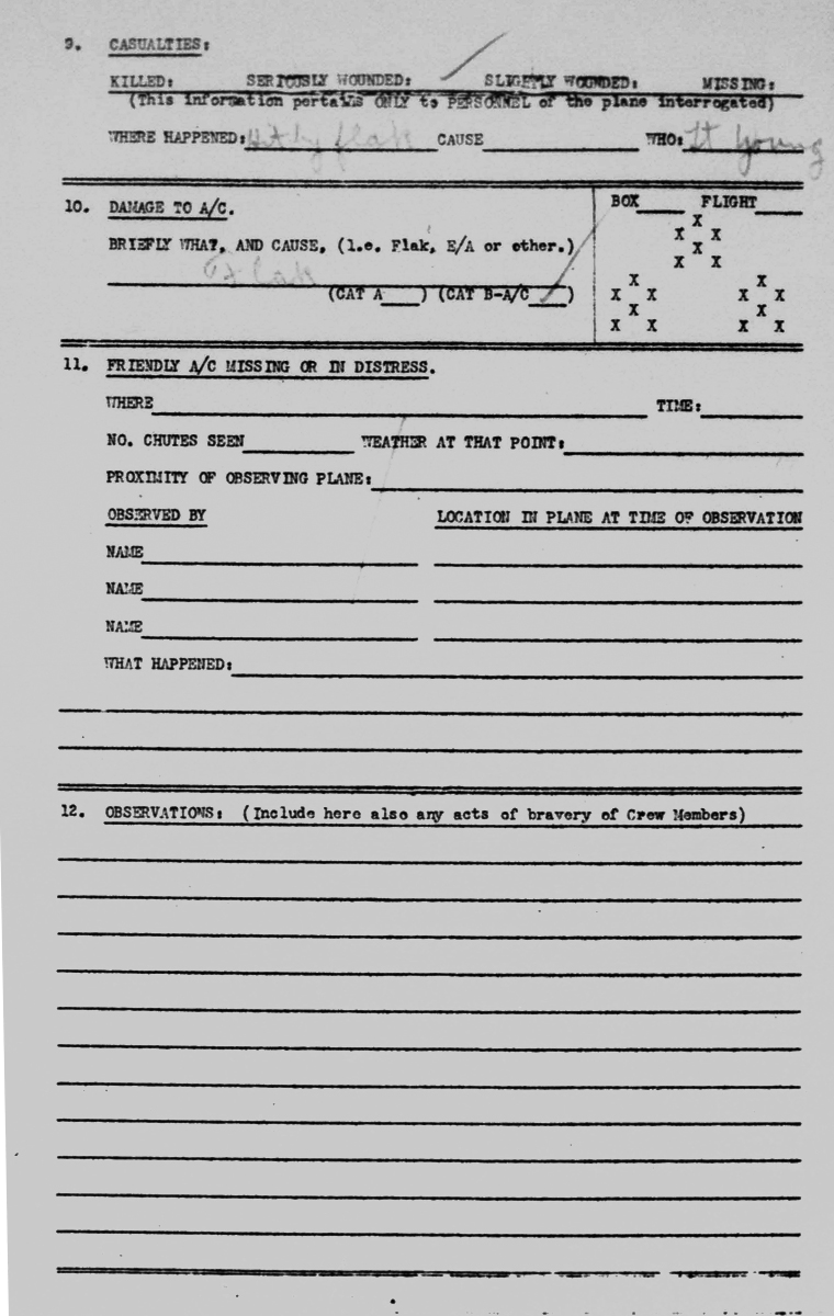 Piloy Interrogation Dec 23, 1944 page 1