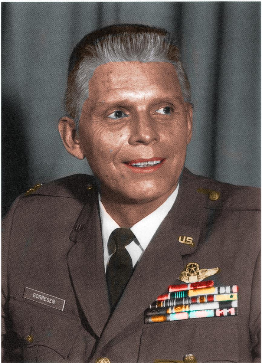 Borresen portrait Colorized