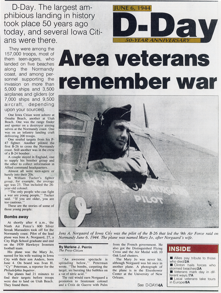 50th anniversary D-Day article