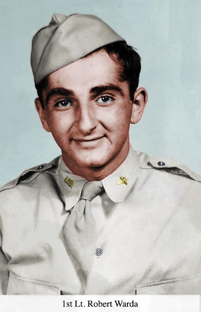 1st Lt. Robert Warda Colorized