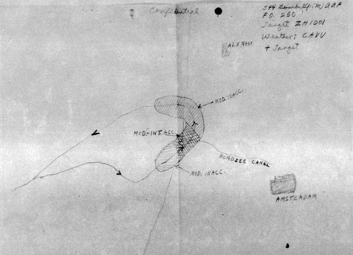 B0286 P1607 March 26, 1944 Map Scott
