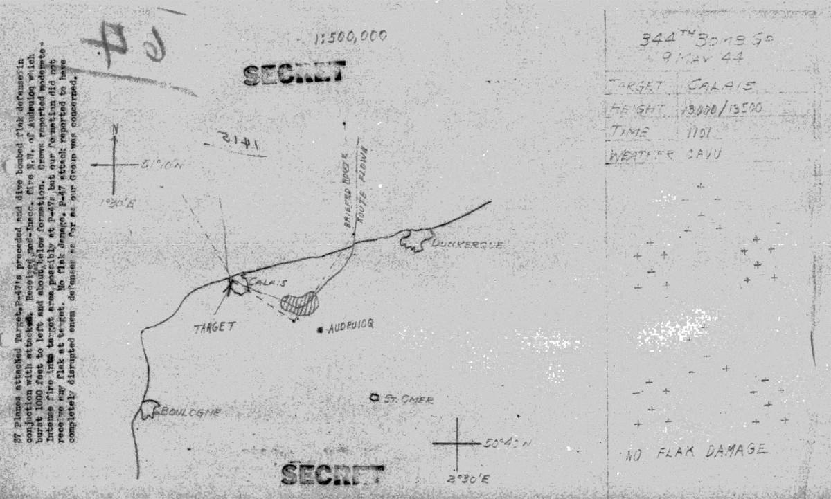 B0289 p236 May 9, 1944 Map Woodrum