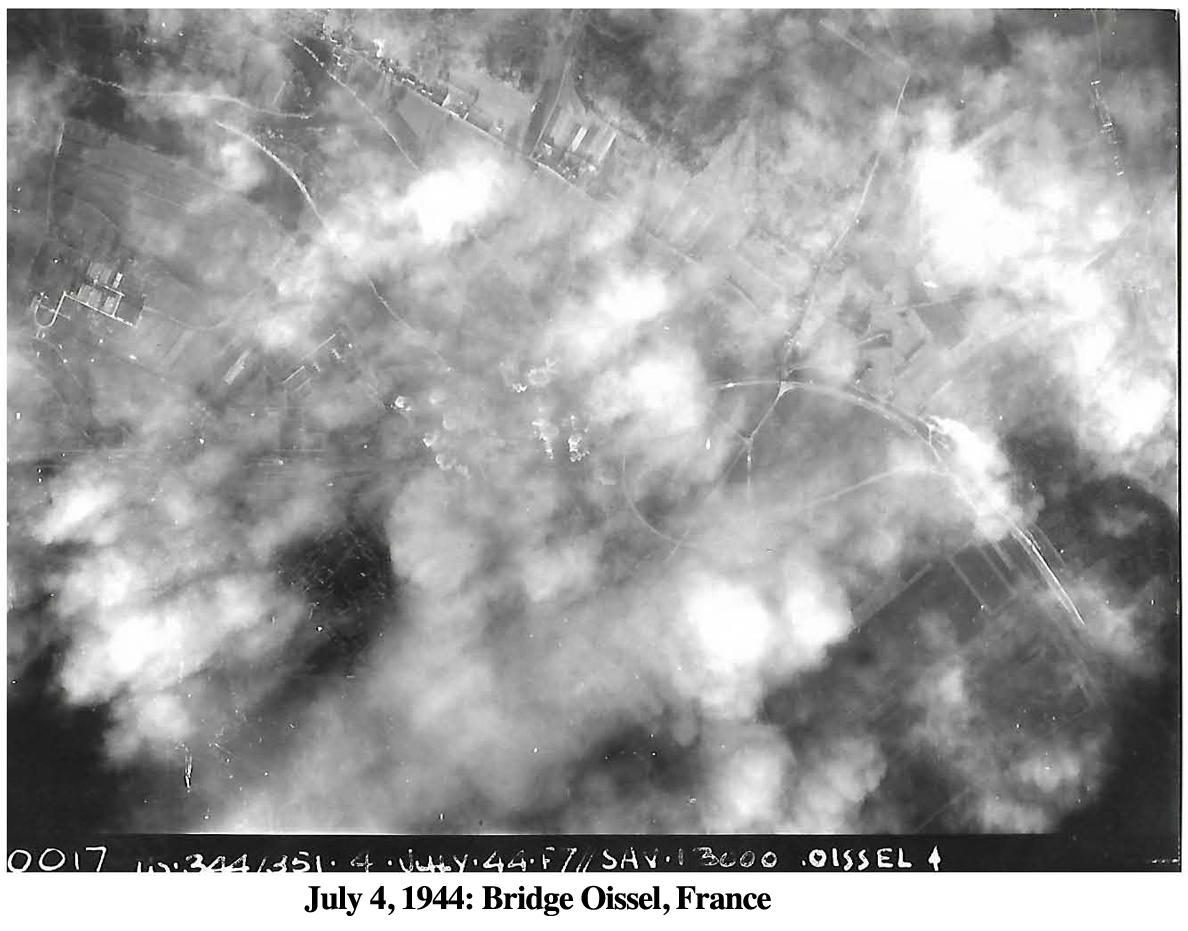 344Bomb July 4, 1944 Oissel
