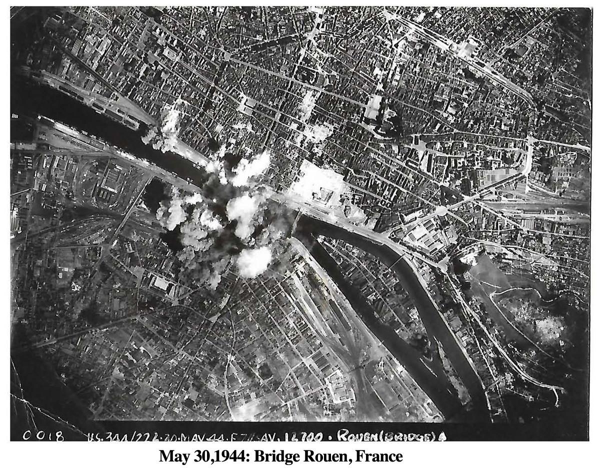 344Bomb May 30, 1944 Rouen