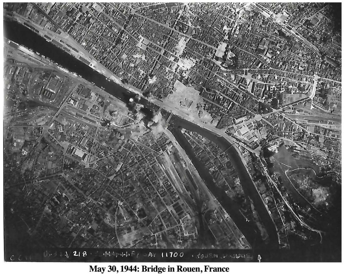 344Bomb May 30, 1944 Rouen 2