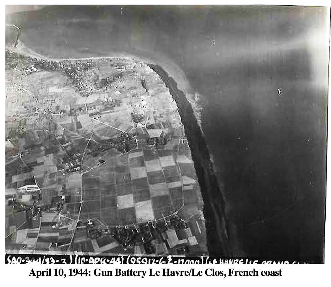 344th Bomb April 10, 1944 LeHavre