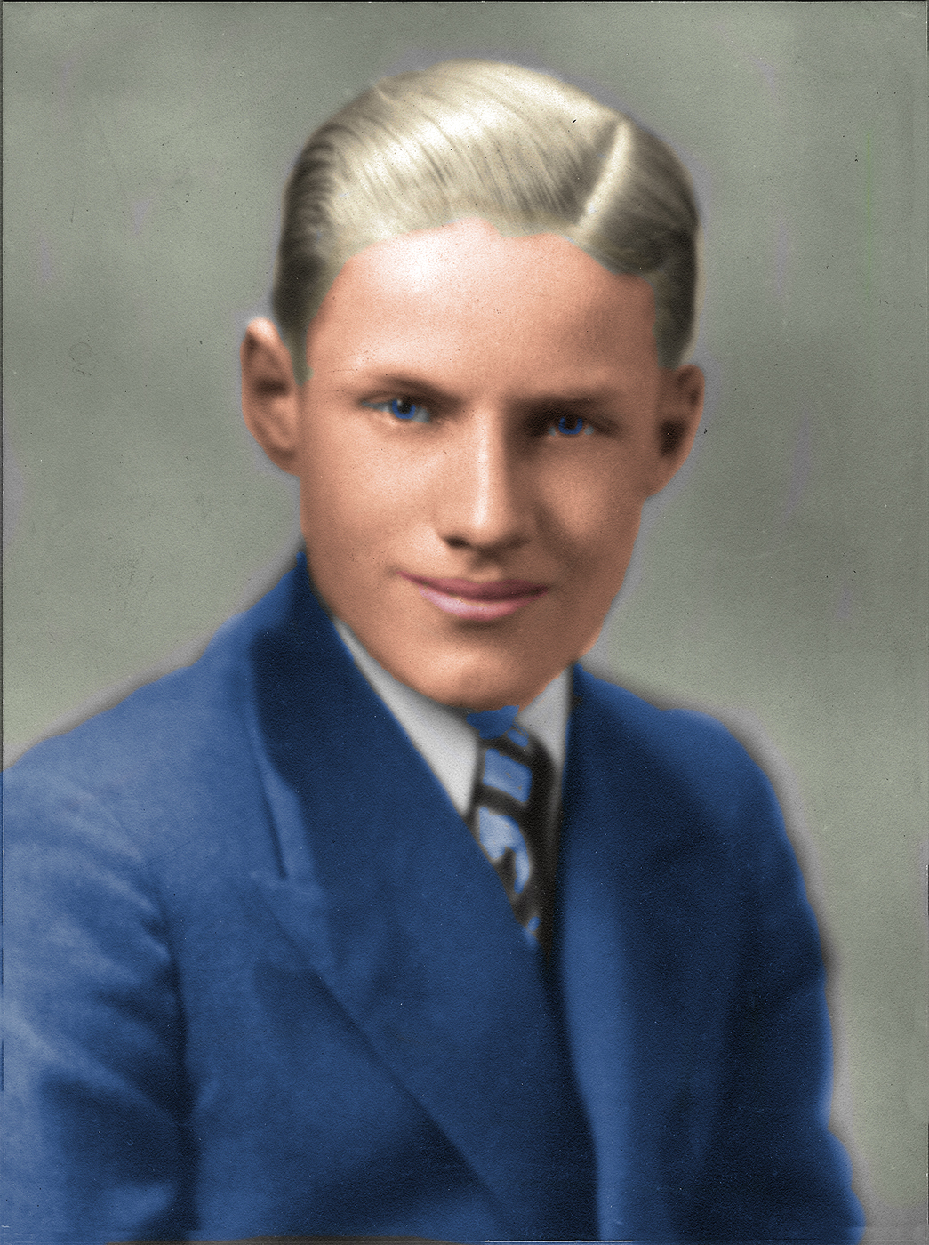 Charles Brooker Colorized