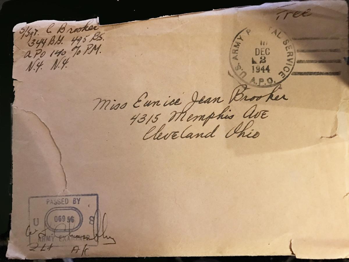Lt. Brooker envelope