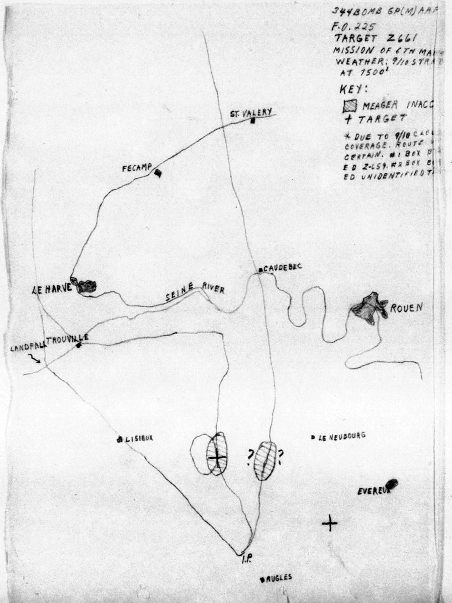 B0286 P583 March 6, 1944 Map Hasey
