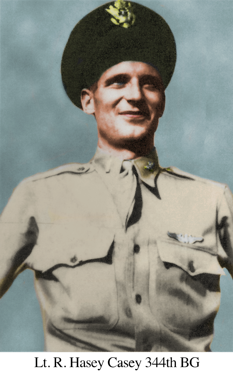 Casey Hasey Portrait colorized
