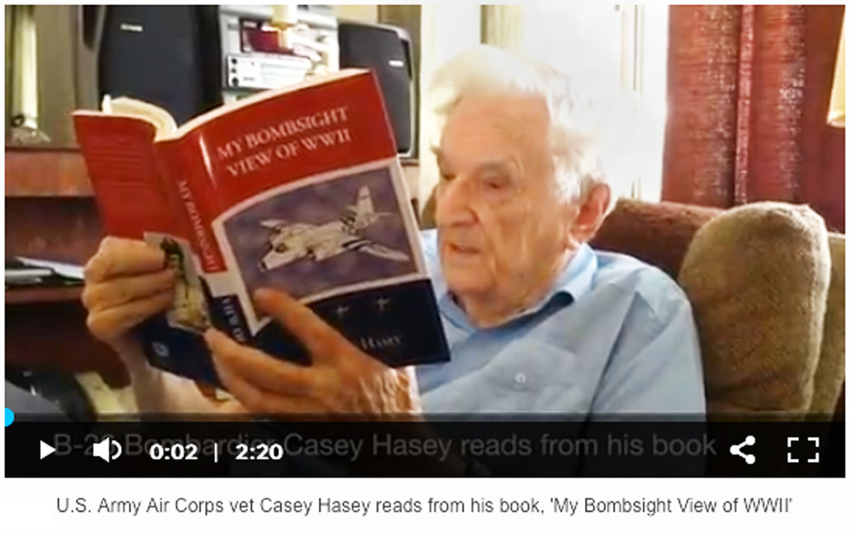 Casey Hasey reads