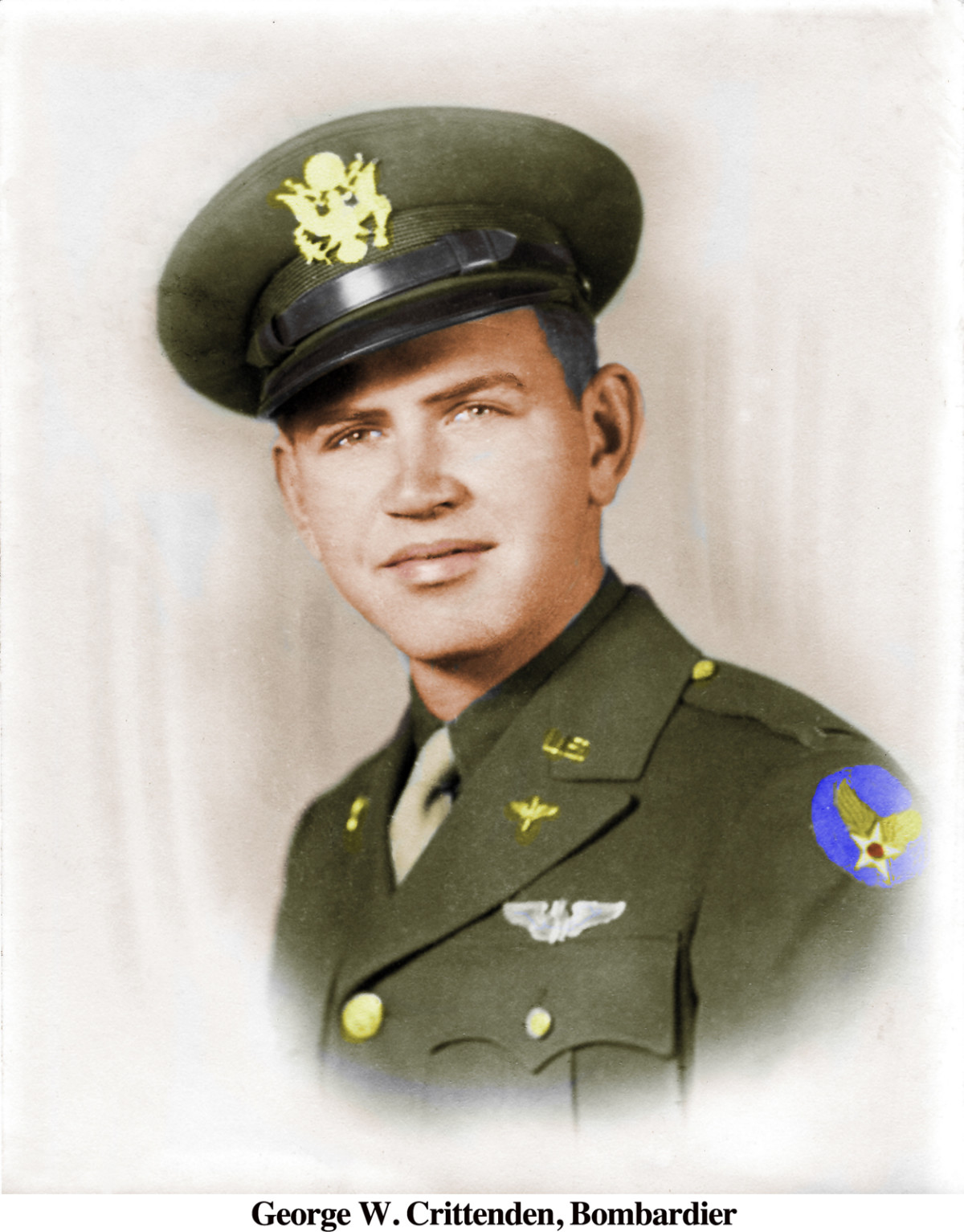 George W. Crittenden, Bombardier colorized by Carrozza