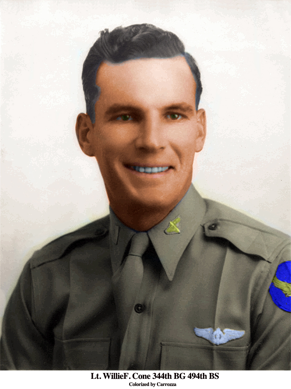 Willie Cone Colorized