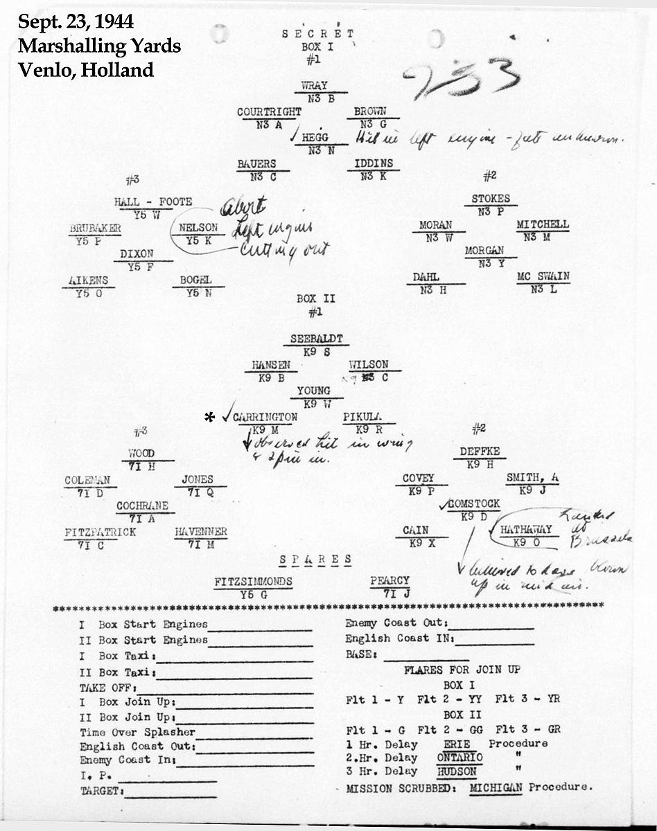 B0294 p1166 Form Sept 23, 1944 Carrington-Martin