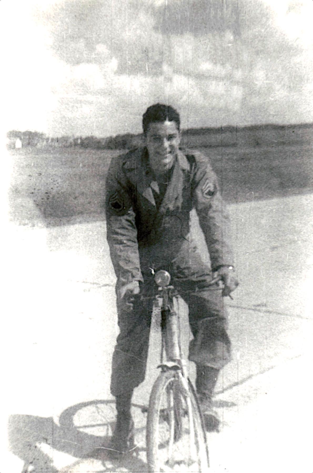 Hotard on Bike